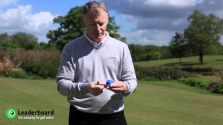 Golf Rules: Marking your golf ball