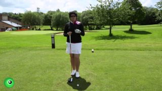 Driving accuracy with Becky Brewerton LET Professional