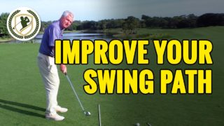 HOW TO IMPROVE YOUR CLUB PATH – PERFECT GOLF SWING PATH TIPS