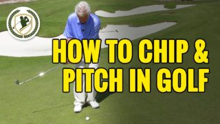 How To Chip & Pitch A Golf Ball – 2 Common Pitfalls SOLVED