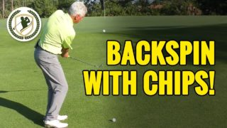 How To Get Consistently More Backspin On Chip Shots