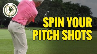 How To Create More Spin With Short Pitch Shots